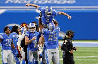 Lions' Matt Prater drills 59-yard game-winning field goal vs. Washington