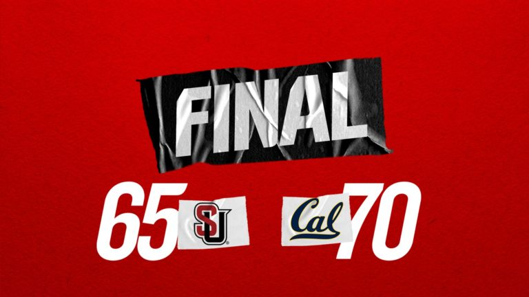 Redhawks Fall Short of Upset, Lose to Cal 70-65