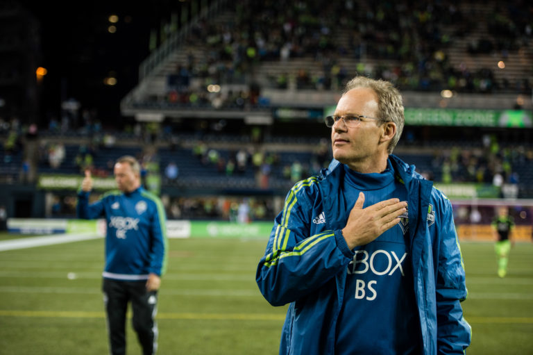 Seattle Sounders and Brian Schmetzer Agree on Contract Extension