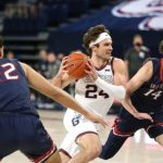 Kispert, No. 1 Gonzaga keep rolling, beat Saint Mary's 87-65