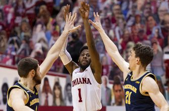 Hoosiers fall in third straight with 73-57 loss to No. 3 Michigan