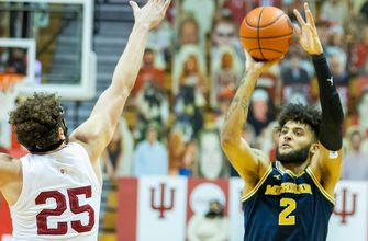No. 3 Michigan continues to roll with 73-57 win at Indiana (WITH VIDEO)