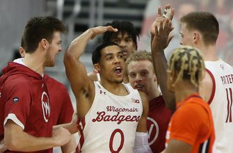 Trice-led rally falls short as Badgers fall to No. 5 Illinois 74-69