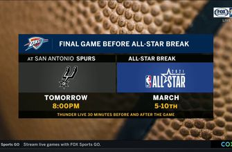 One More Game before the All-Star Break | Thunder Live