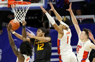 Dru Smith hits go-ahead shot as Mizzou earns first-ever win at Florida, 72-70
