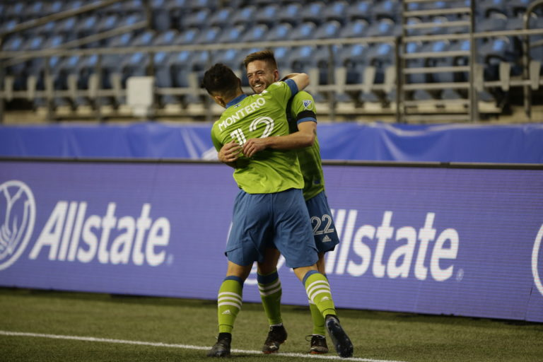 Sounders Make Statement in Thrashing of Loons, 4-0