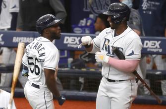 Randy Arozarena, Austin Meadows belt homers as Rays shut out Yankees
