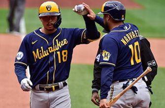 Brewers ride five-run seventh to 9-5 win over Cardinals