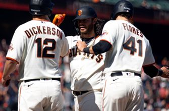 Brandon Crawford three-run blast proves decisive in Giants' 4-3 win over Rockies