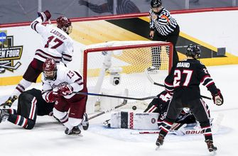 St. Cloud State shut out by UMass in NCAA title game