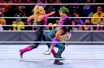 Natalya & Tamina win Tag Team Turmoil to earn a WWE Women's Tag Team Championship Match at Night 2 of WrestleMania