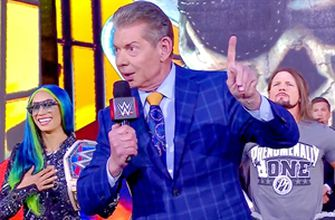 Mr. McMahon welcomes WWE Universe to WrestleMania: WrestleMania 37 – Night 1 (WWE Network Exclusive)