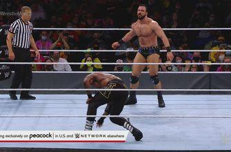 Drew McIntyre plants Bobby Lashley with three Future Shock DDTs: WrestleMania 37 – Night 1 (WWE Network Exclusive)
