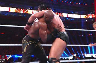 WWE Champion Bobby Lashley vs. Drew McIntyre