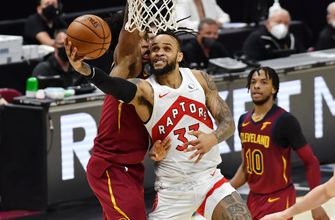 Cavaliers allow 87 first-half points en route to 135-115 loss to Raptors