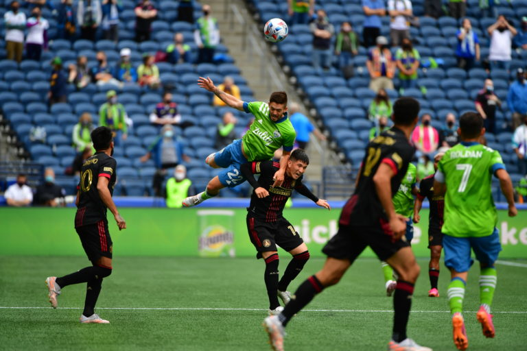 Sounders settle for draw with Atlanta, 1-1