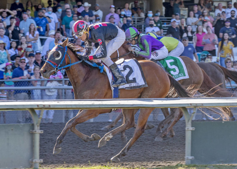 Emerald Downs: Track's 25th Birthday saw return of Big crowd plus 2 Stakes Races and a Special Hall of Fame Inductee