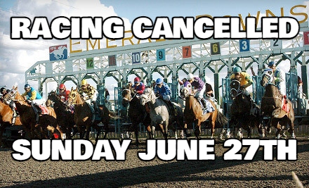 Emerald Downs: Racing Cancelled for Sunday due to excessive heat concerns
