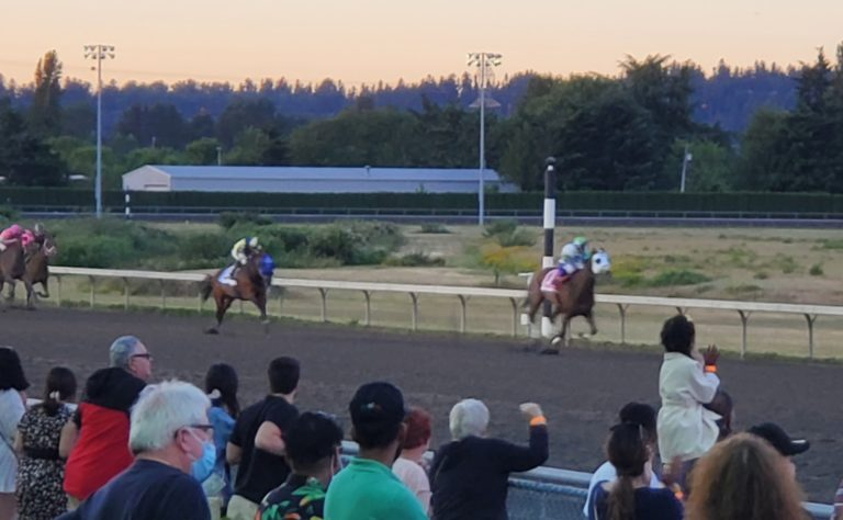 Emerald Downs: Front Speed Dominates Stakes Schedule Kick-off in the Hastings and Bud