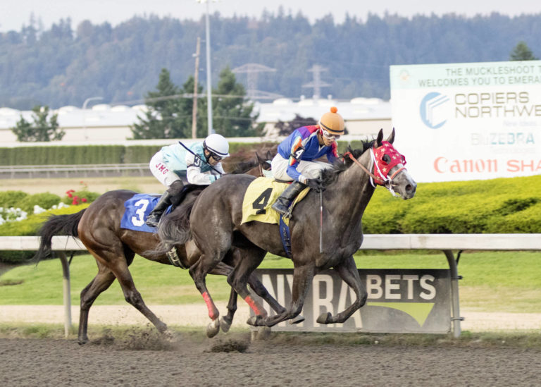 """Emerald Downs: 2-Year-Olds make 1st starts, """"Guti"""" goes off, Cruz streak reaches new level in Feature on Thursday"""