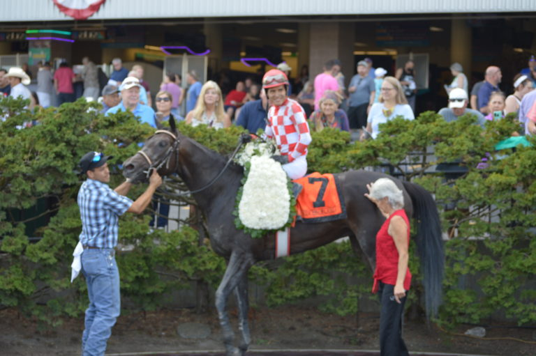 Emerald Downs: Princess of Cairo swoops in again for a Stakes win plus the Round-Up!