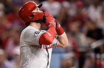 Bryce Harper homers in return to D.C. as Phillies top Nationals, 5-4