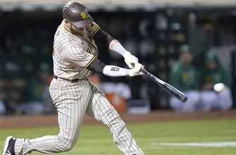 Austin Nola goes 4-for-5 as Padres handle Athletics, 8-1
