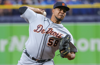 Wily Peralta spins seven innings, gives up no runs as Tigers shut out Rays, 2-0