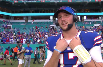 'Guys made plays when they needed to' — Josh Allen on Bills' big win over Dolphins