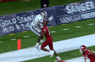 Nevada's game-tying two-point conversion catch ruled out of bounds, Fresno State wins 34-32